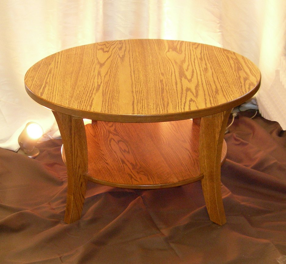 Oak Coffee Table by Wood Concepts